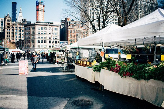 New York Union square market