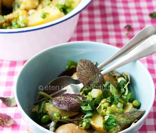Aardappelen planten en aardappelsalade