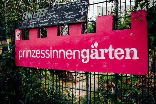 Stadstuinieren in Prinzessinnengarten Berlijn