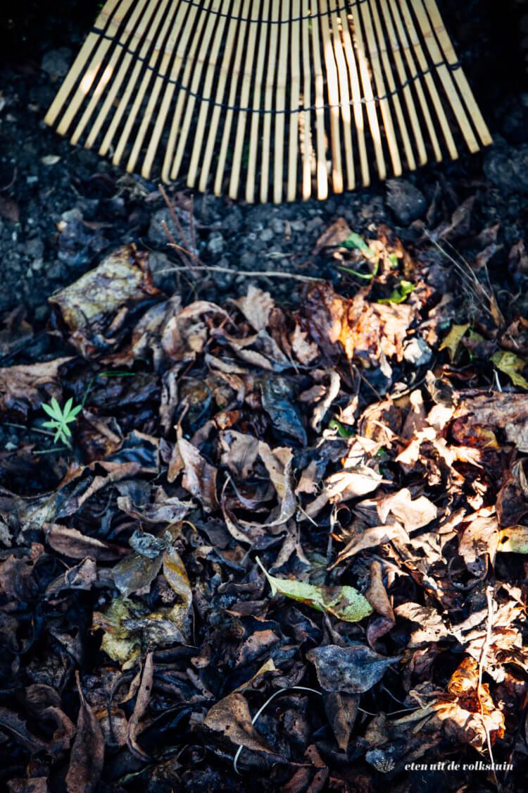 winterklaar maken: mulchen