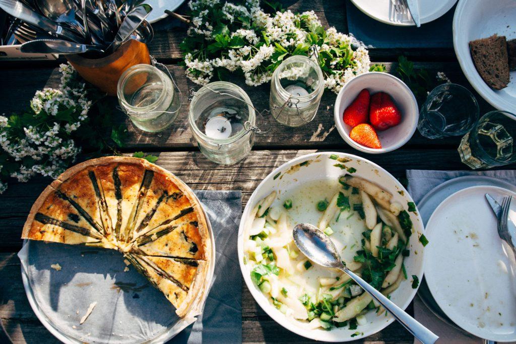Tuinfeestje, kookboek OOGST