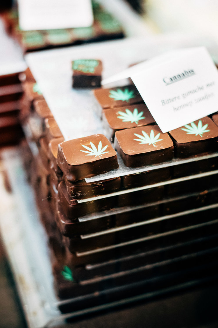 Chocolade in Brugge