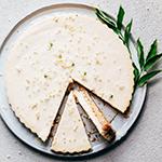 cheesecake met vlierbloesem